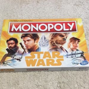 Star Wars Monopoly Opened not played with